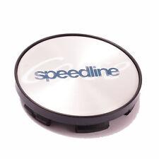 Speedline Corse Aleación Tapa Centro De Rueda Pulido (1) Con Espalda de Plástico 60mm
