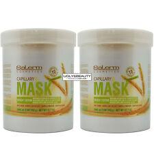 "Salerm Capillary Mask Wheat Germ 1000 ml / 33.7 Oz. / 955 g ""Pack of 2"""