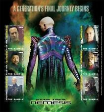 Gambia - Star Trek - Nemesis, Sheet of 6 Stamps - 2010 MNH