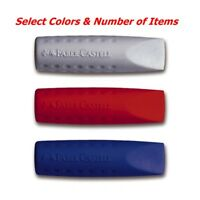 Faber-Castell Grip 2001 Color Eraser Rubber Pencil Cap - Select Color Mix
