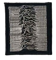 JOY DIVISION Uknown Pleasures Embroidered Iron On Sew On Patch Badge