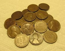 1/2 ROLL OF 1911 D DENVER LINCOLN WHEAT CENTS FROM PENNY COLLECTION