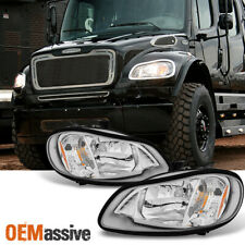 Fit 04-12 Freightliner Business Class M2 03-13 M2 106 Headlights L+R