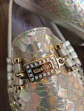 MISSOURI Primrose Girls Gold Leather Loafer Size 30