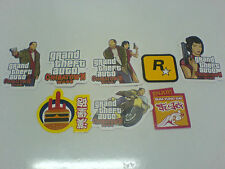 GTA - Grand Theft Auto Chinatown Wars Stickers- NDS PSP Promotional-New and Rare