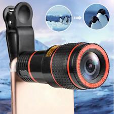 Clip-on 12X Optischer Zoom HD Teleskop Kameraobjektiv Klipp für Handy Smartphone