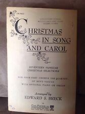 Christmas in Song and Carol Vintage 1950