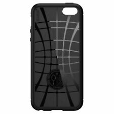 Spigen iPhone Se/5s/5 Rugged Armor Case Black Durable Mechanical Design Com
