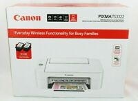 NEW!! Canon - PIXMA TS3322 Wireless All-In-One Printer (Ink Not Included)