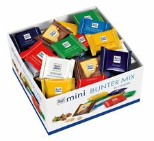 BIG BOX RITTER SPORT CHOCOLATE 84 PIECES - 1.4 KG FROM GERMANY RITTERSPORT
