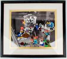 Walter Lantz We Miss You Boss #1 Serigraph Art Cel Woody Woodpecker Animation