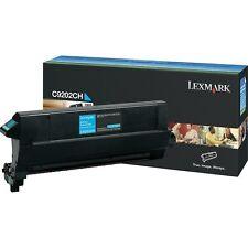 ORIGINALE Lexmark toner c9202ch CIANO per c920 a-Ware