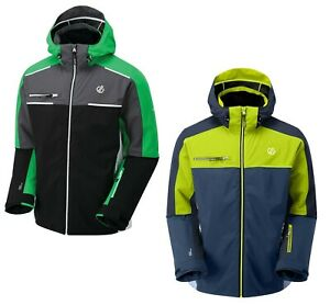 Dare2b Mens Intermit II Waterproof Breathable Ski Jacket - Jenson Button Edition
