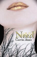 Need by Carrie Jones (Paperback) New Book