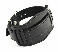 Soviet military style watch wristband strap Brand New Leather 20-22 mm Russian