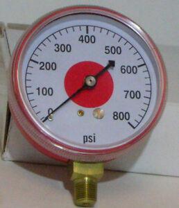 High Side Pressure Refrigerant Gauge