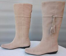 NEW! NWOB! Cole Haan Air Size 8.5B Sand Natural Leather Knee High Boots