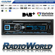 Alpine CDE-196DAB Car Stereo Headunit Radio Bluetooth CD DAB USB MP3 AUX iPod
