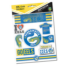 Parramatta Eels NRL LOGO Car Sticker Stickers Sheet Christmas Birthday Gift