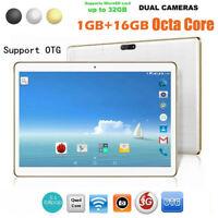 10.1Inch 1+16G Android 4.4 Dual Sim Dual Camera Phone Wifi Tablet PC EU Plug