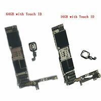For Apple iPhone 6/6 Plus 16GB/64GB Main Board Motherboard Unlocked w/ Touch ID