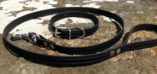 """ST29 BioThane® Dog 5/8"""" Collar & Lead Set Small/Terrier/Patterdale/Jack Russell"""
