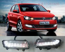 Luci Diurne LED Daytime Fari DRL Per Volkswagen VW Polo 2010 2011 2012 2013 2014