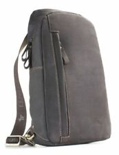Visconti 16132 Genuine Oil Leather Backpack Bag Rucksack Shoulder Handbag Secure