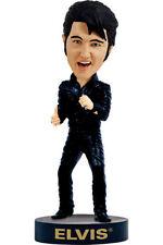 Elvis PRESLEY Pelle Nera'68 ricongiungimento Bobblehead HEADKNOCKER ACTION personaggio