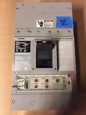 SIEMENS SHND6 SHND69100ANTH 3 POLE 1000 AMP 600V CIRCUIT BREAKER SHND LSI
