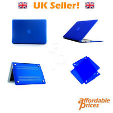 Blue - AP Case - 13 Inch Crystal Clear A1369/A1466 Apple Macbook Air Case Cover