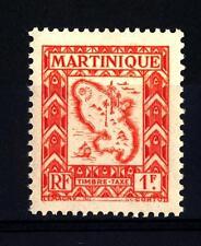 MARTINIQUE - MARTINICA - 1947 - Segnatasse