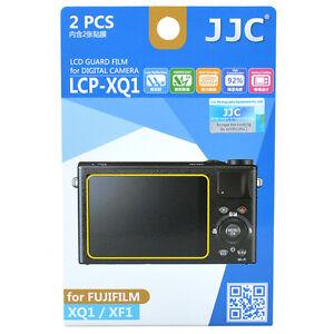 JJC LCP-XQ1 LCD Guard Film Camera Screen Display Protector for FUJIFILM XQ1 XF1