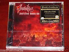 Thanatos: Justified Genocide - Limited Edition CD 2014 Bonus Tracks 9984102 NEW