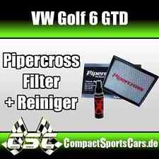 VW Golf 6/VI GTD 2.0 TDI   Pipercross Sportluftfilter/Tauschfilter