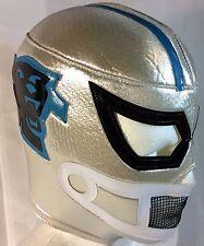 Carolina Panthers Wrestling/Luchador Mask! Great For Die Hard Carolina Fans!