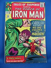 TALES OF SUSPENSE 55 Fine Iron Man Mandarin 1964