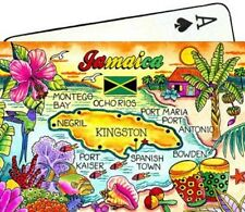 JAMAICA MAP CARIBBEAN COLLECTIBLE SOUVENIR PLAYING CARDS