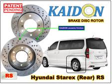 """HYUNDAI STAREX disc brake rotor KAIDON (Rear) Type """"RS"""" specec"""