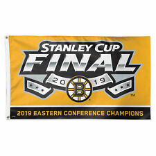 Boston Bruins 2019 Eastern Conference Champions Large Outdoor Flag