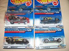 Hot Wheels 2000 Speed Blaster Series Complete Set of 4