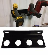 Drill Wall Mount Holder Rack Organizing Hanger Storage MADE IN USA