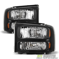 2005-2007 Ford F250 F350 F450 Superduty SD Harley Davidson Headlights Headlamps