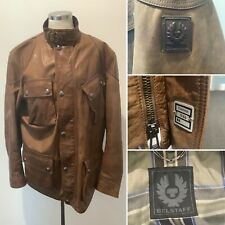 Preloved - Men's Belstaff 'Panther 1966' Brown Leather Jacket - Sz 52