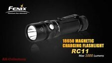 Fenix RC11 LED Taschenlampe Flashlight 1000 Lumen Strobe + Akku Ladekabel u.a.