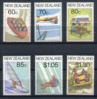 34604) New Zealand MNH New 1987 Tourism & Sport 6v