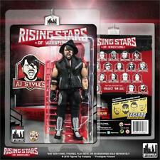Rising Stars of Wrestling Action Figure - AJ Styles (Red), Figures Toy Co