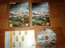 SID MEIER'S...CIVILIZATION 5...jeu complet...sur PC