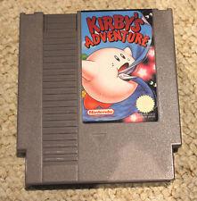 KIRBY'S ADVENTURE PAL-A NES NINTENDO ENTERTAINMENT SYSTEM KIRBYS VERY RARE!