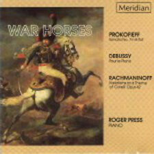 War Horses - Prokofieff Debussy Rachmaninoff - Roger Press, Piano / CD neuwertig